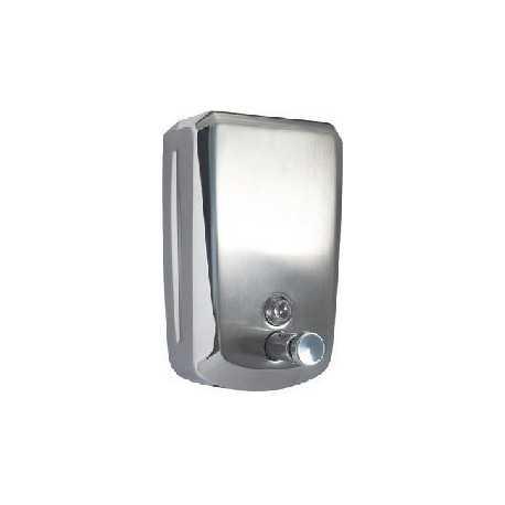 Dosificadores de jabón en inox. Refª 10093 de 0.8 litros