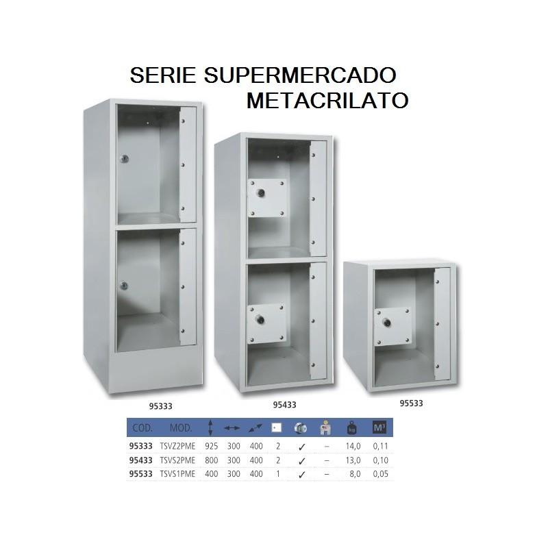Serie METACRILATO - puertas transparentes