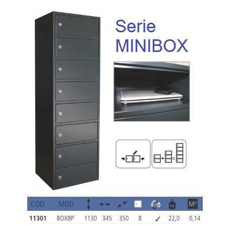 Serie MINIBOX - 8 minitaquillas