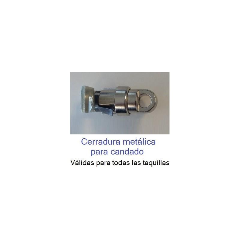 Cerraduras metálicas para candado