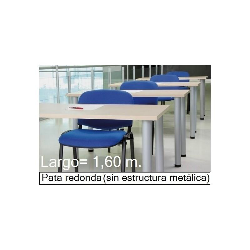 Mesa MODI-1600 patas redondas