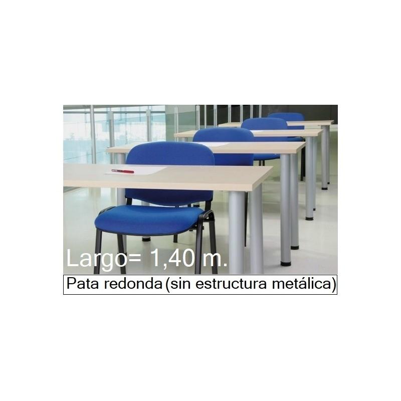 Mesa MODI-1400 patas redondas