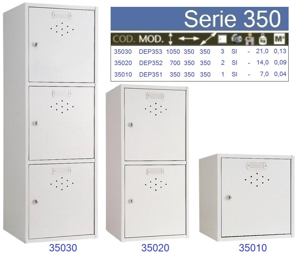 Nueva serie 350, de consignas soldadas.